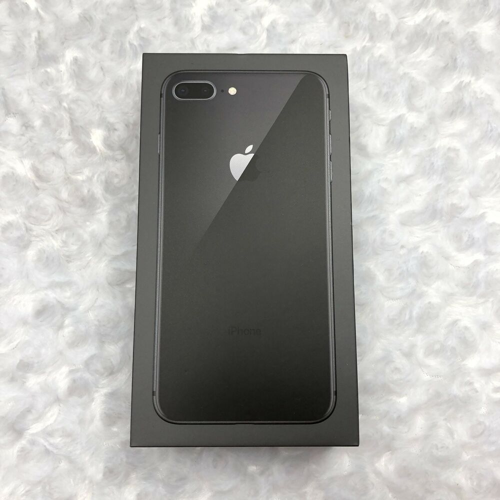 Apple Iphone 8 Plus 64 Gb Original Empty Black Box Only No Iphone Resellers Apple