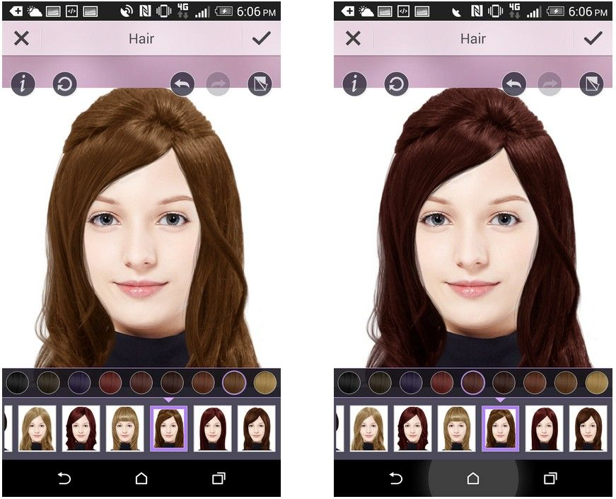 Try On Hair Color Virtual Httphaircolorertry On Hair