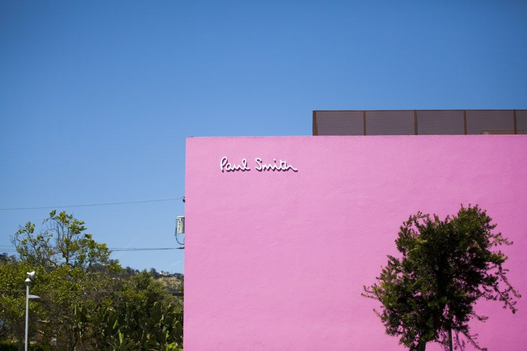 5 Most Instagrammable Spots On Melrose Ave Paul Smith Pink Wall Los Angeles Instagram Tips Instagra Instagram Locations Instagram Guide Instagram Blogging