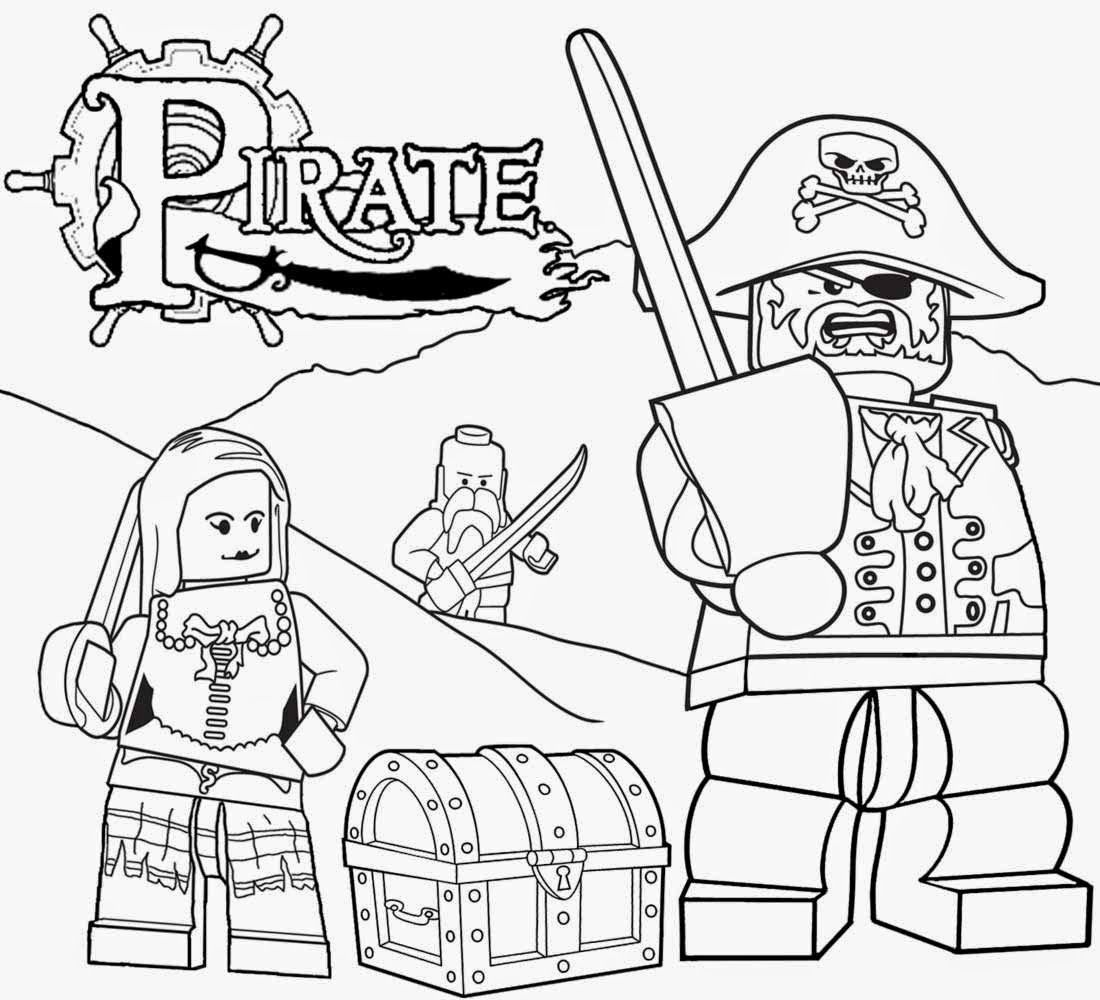 Printable Lego Minifigures Men Coloring Pages For Free