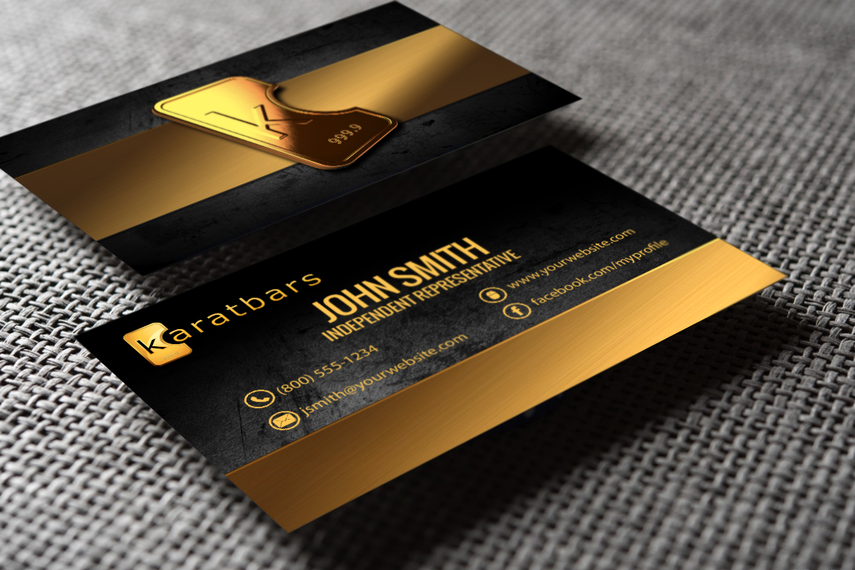 Karatbars Business Cards Free Shipping Free Business Cards Printing Business Cards Karatbars