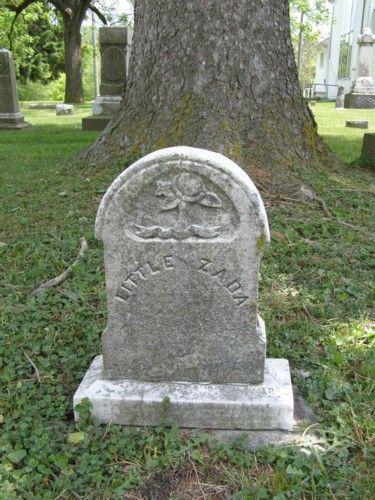 Little Zada  York Center Cemetery  York Center, Ohio