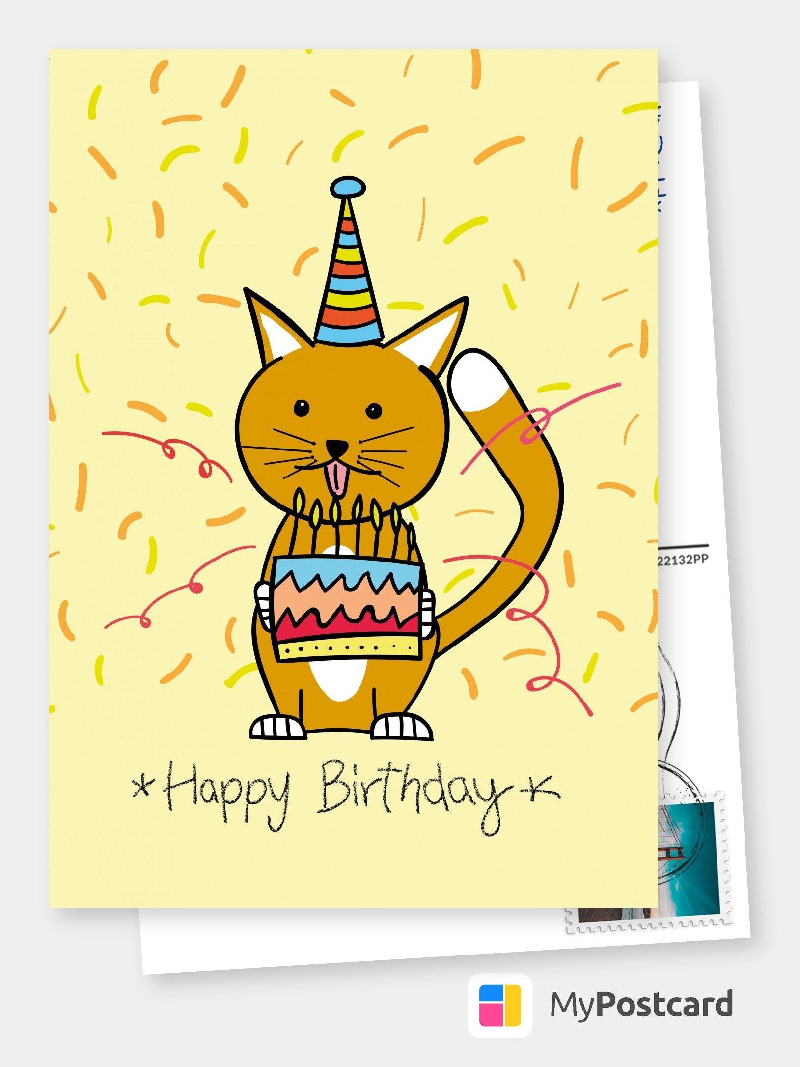 Birthday Greeting Card Birthday Greetings Birthday Cards