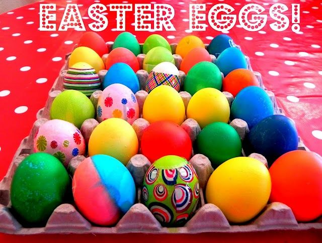 Brightly colored food bright eggs using food coloring colorful easy dye easter eggs with food coloring forumfinder Image collections