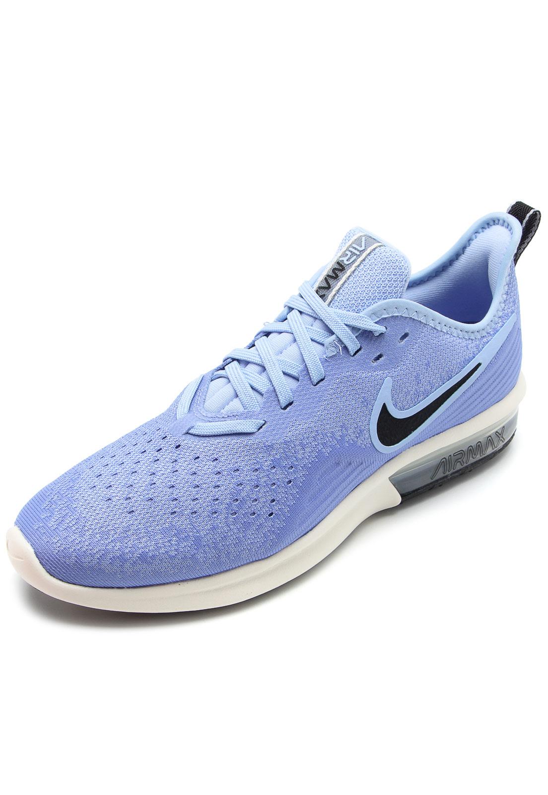Tênis Nike Air Max Sequent 4 Azul   Nike air max, Ar max e