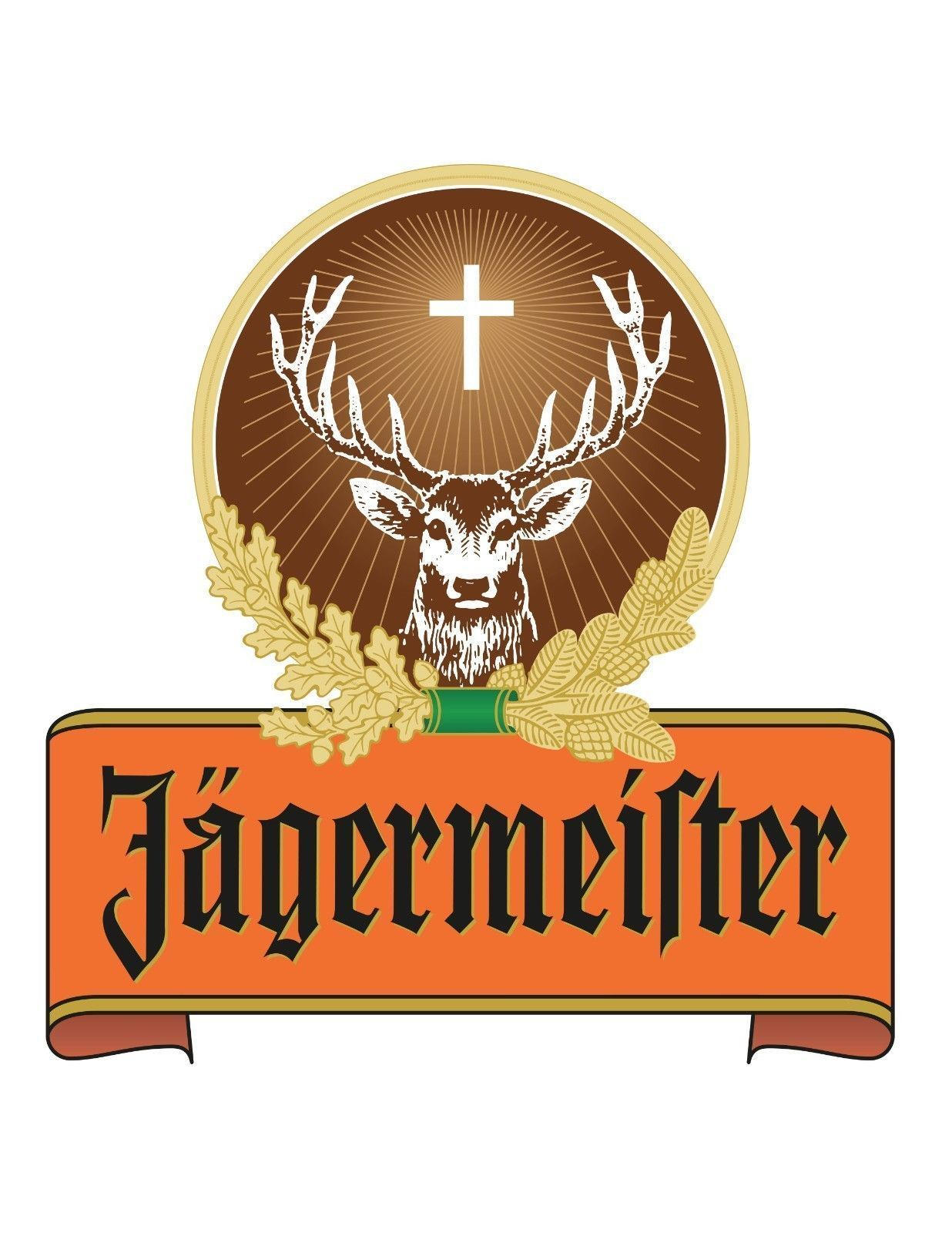 Jagermeister sticker decal many sizes wall truck car wall vinyl logo