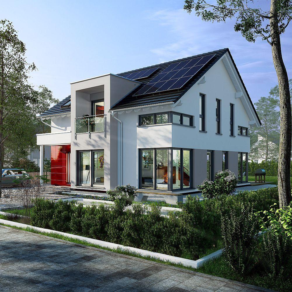 Einfamilienhaus Fellbach - OKAL Haus ➤ Fertighaus mit ...