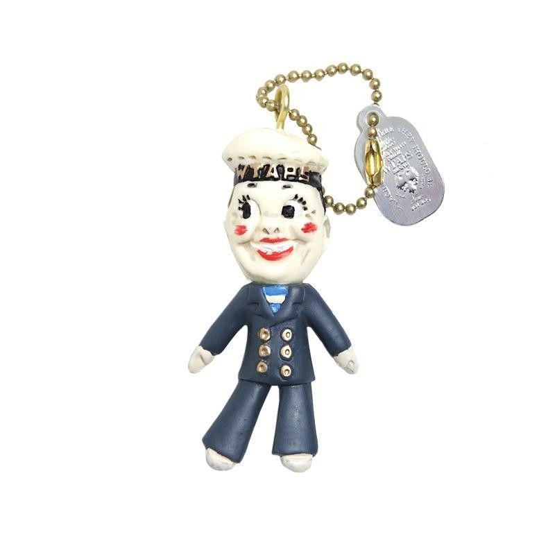 WTAPS x Masa Sculp Bonanza Key Chain (Blue)