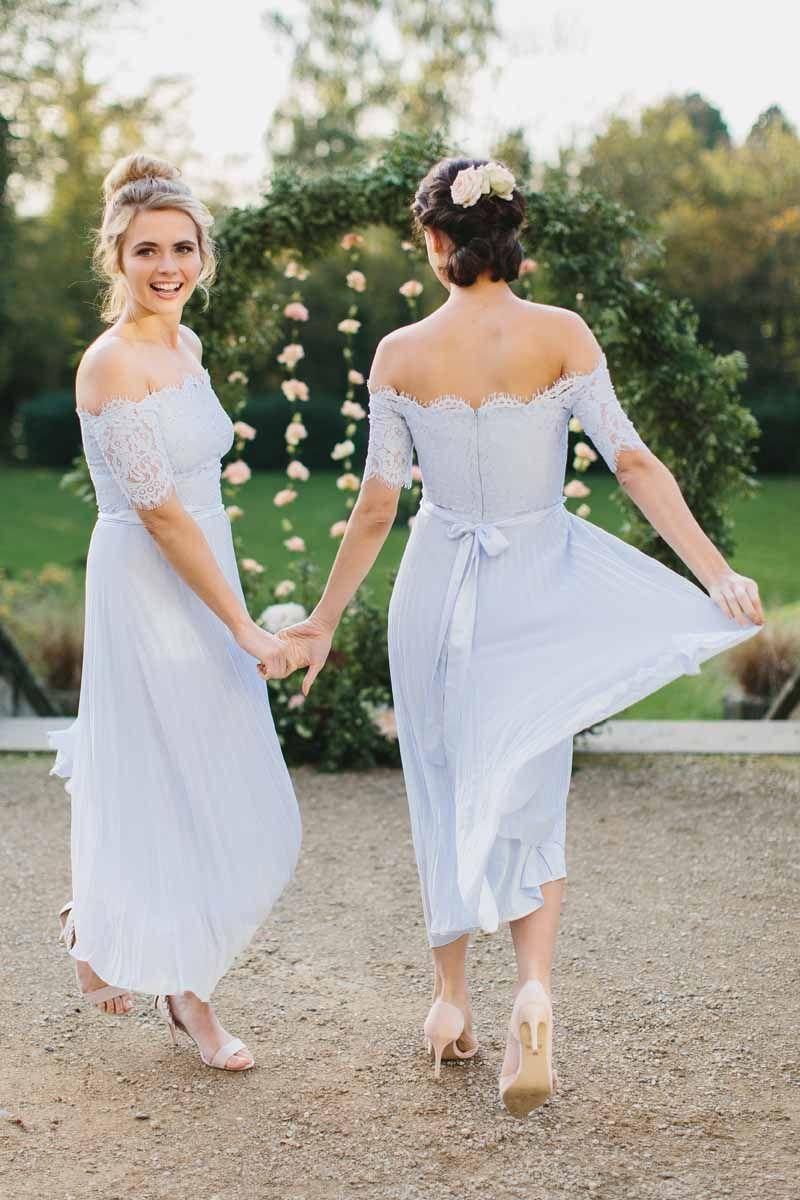 Coast Bridesmaid Dress Shoot 2018 Passion For Flowers Blue Bridesmaid Dresses Short Bridesmaid Dresses With Sleeves Light Blue Bridesmaid Dresses