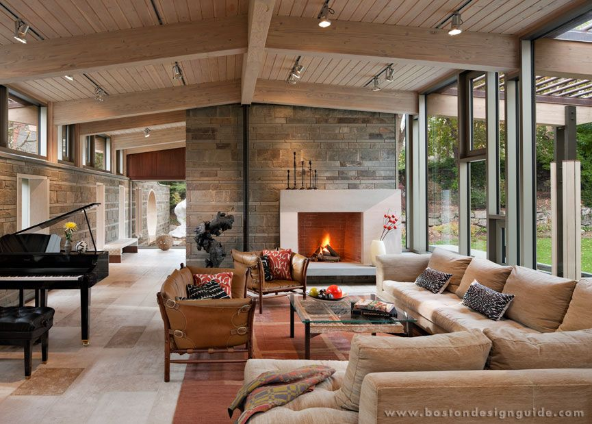 Featured Project The Floating Peak House Fireplace Design House Design Kitchen Design