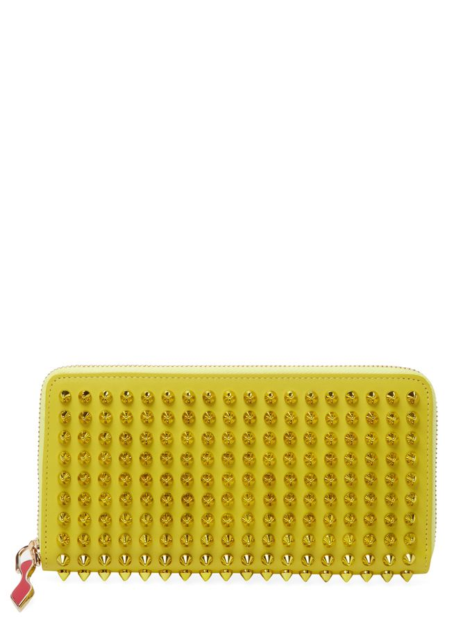 Multicolor Spike Long Wallet from Christian Louboutin Shoes & Handbags on Gilt