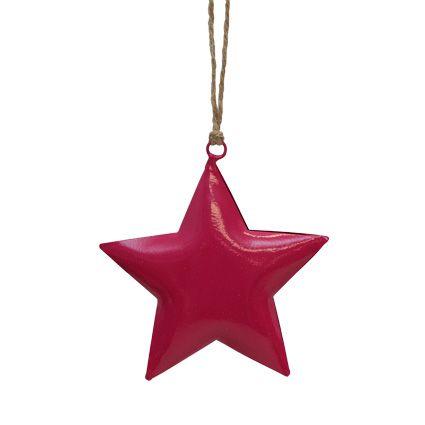 Fuscia-Pink-Star