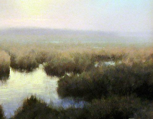 "Michael Godfrey ""Daybreak"" 8x10 oil (circa 2004)"