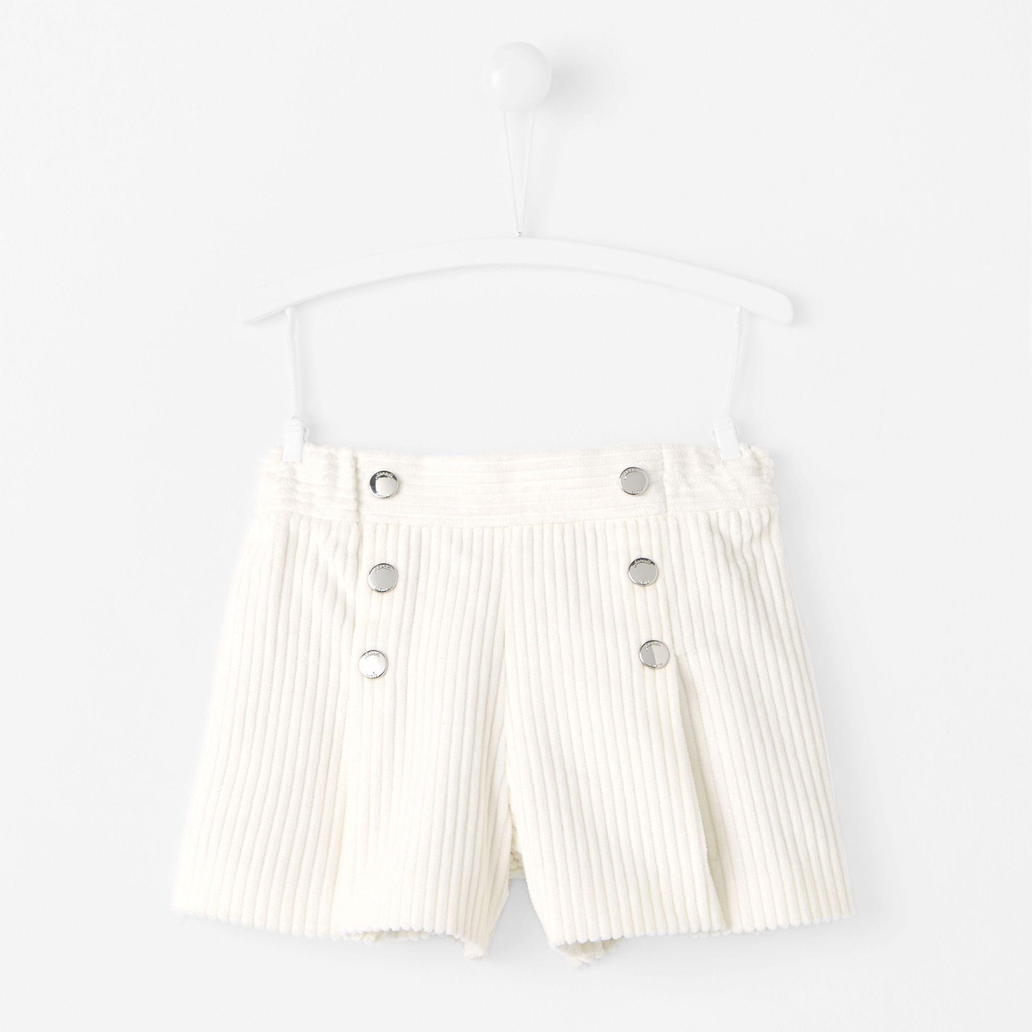 Short bébé fille esprit jupe-culotte  2ecca82e209