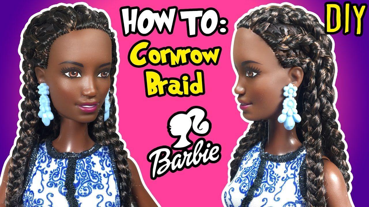 Pin On Diy Barbie Videos