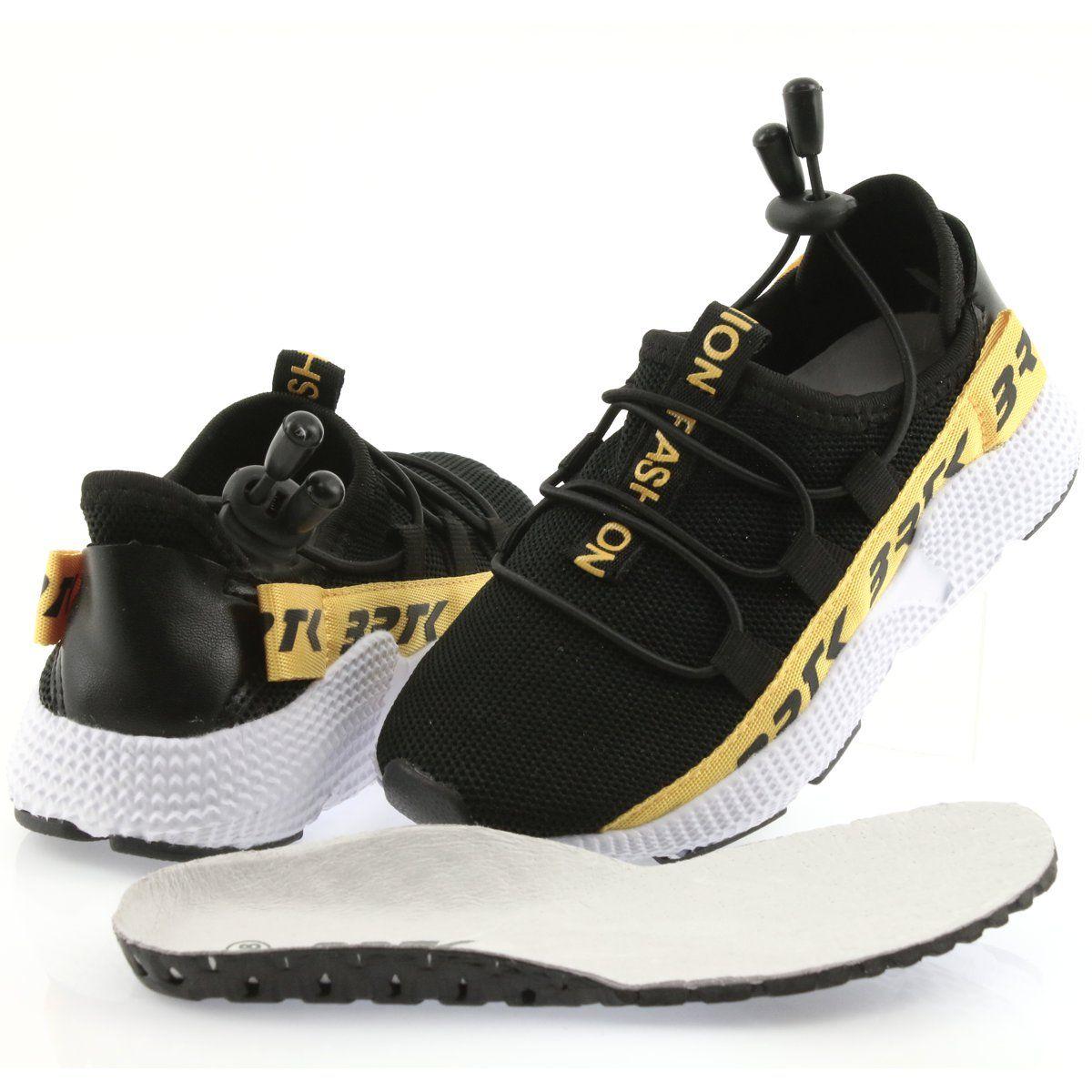 Buty Sportowe Dzieciece Dla Dzieci Bartek Bartek Adidasy Sportowe Czarne 55109 Wkladka Skora Kid Shoes Black Shoes Sports Shoes