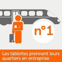 L'utilisation des tablettes en entreprise devient de plus en plus courante. D'abord plébiscité par le grand public, l'appareil s'est fait peu à peu une place dans la panoplie des outils professionnels. En lire plus: http://www.dell.com/learn/fr/fr/frbsdt1/campaigns/revueit-mobilite-tablettes-prennent-quartier