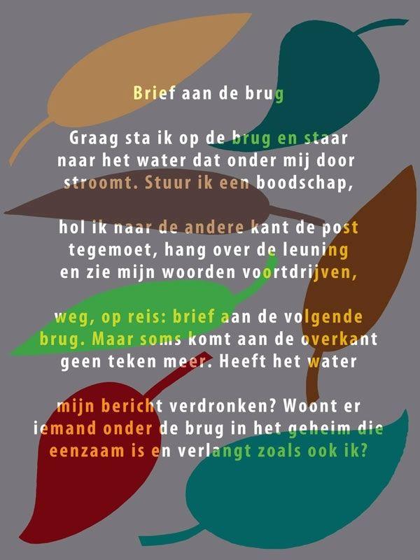 Ted Van Lieshout Brief Aan De Brug Plint Poster 11 A6 De