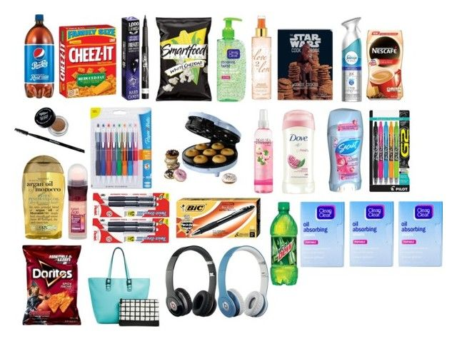 """""""Walmart & Target"""" by smile-74 ❤ liked on Polyvore featuring Hard Candy, Rimmel, Paper Mate, Sunbeam, Target, Dove, Pilot, Organix, Pentel and Maybelline"""