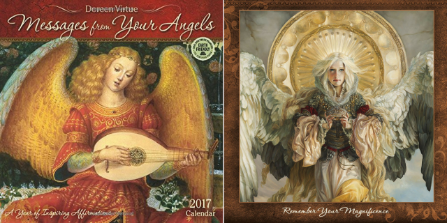 Best Picks: Healing and Inspirational 2017 Calendars: Messages from Your Angels 2016 Wall Calendar
