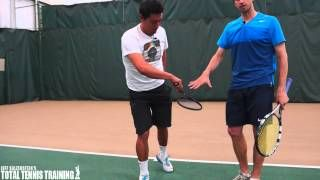 Tennis Kick Server Prontation Explained On Tennis Kick Serve Kicks Tennis Sports