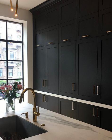 Design inspo: Beautiful black kitchens - Style Curator