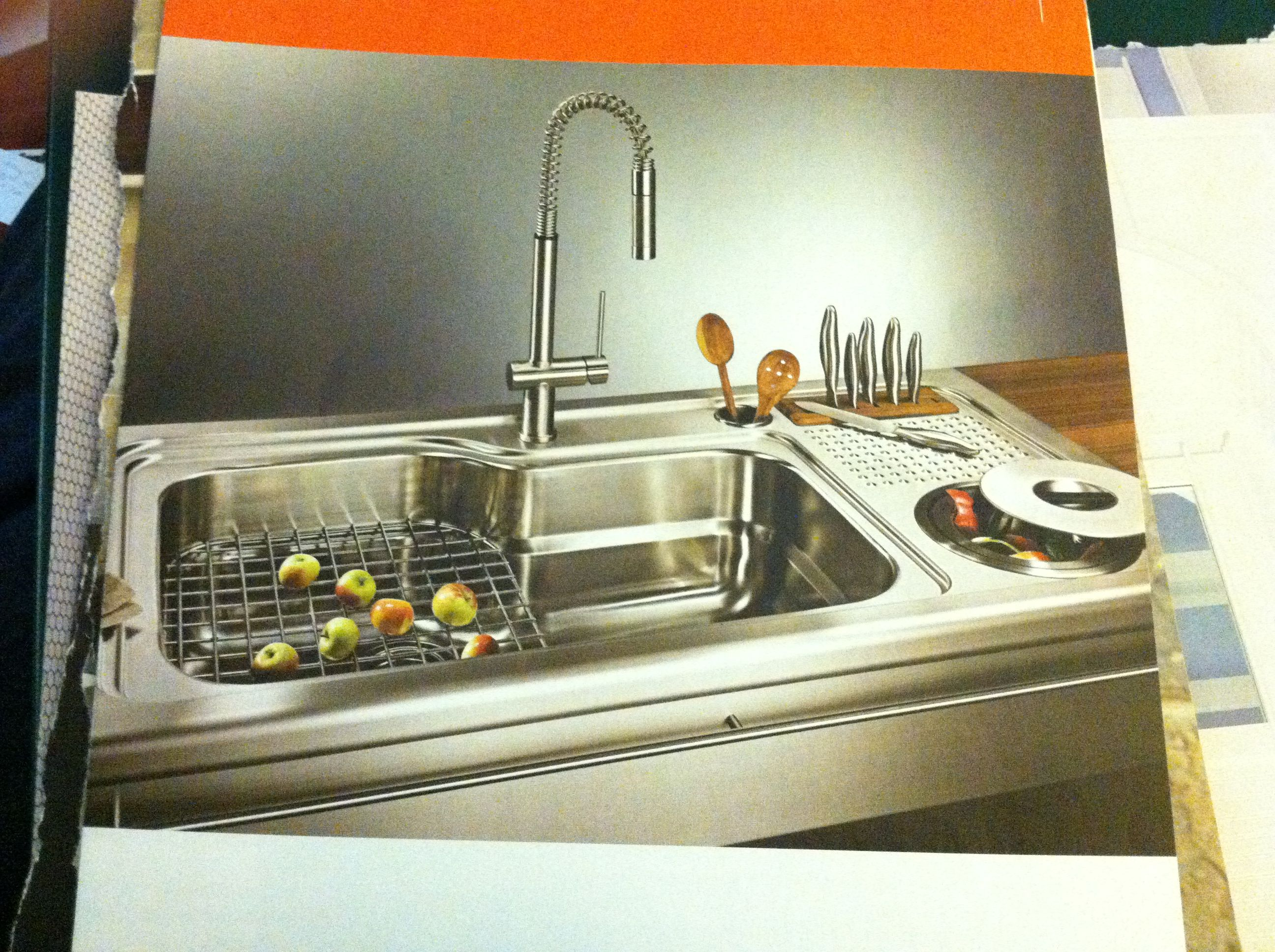 Professional grade sink from franke (frankeconsumerproducts.com)