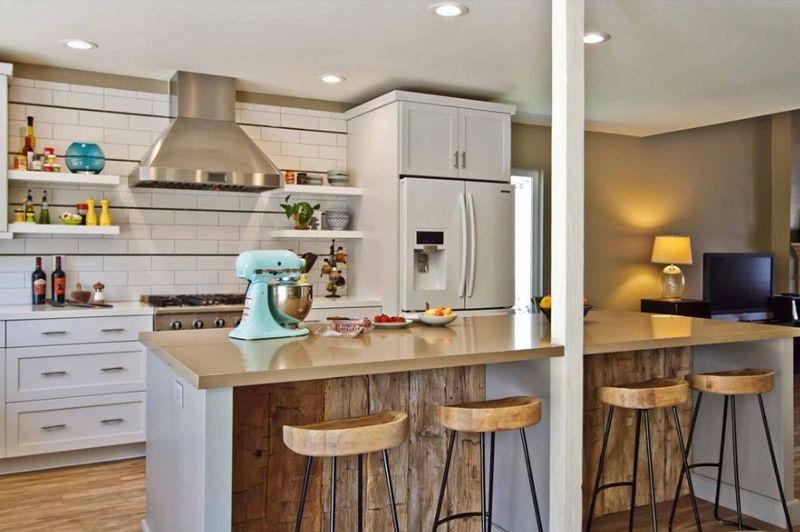 Drewno Z Odzysku Z Kuchni Fronty Ze Starego Drewna Rustic Kitchen Eclectic Kitchen Kitchen Design