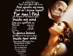 Phantom Of The Opera Quotes Google Search Phantom Of The Opera