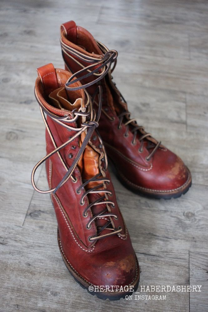 Wesco Jobmaster Lace To Toe Leather Boot 75th Anniversary Edition Sz 10 E Wesco Ankleboots Boots Leather Boots Leather