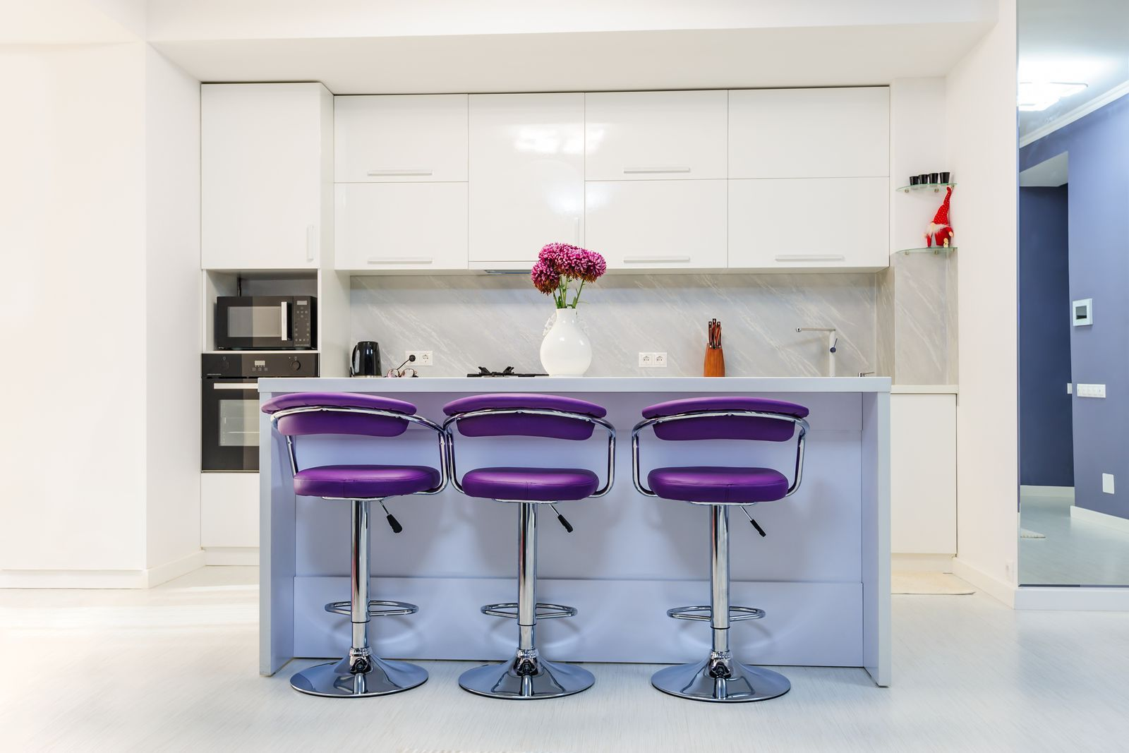 Vibrant Seating Elledecor Purple Love Shades Of Lavender Walls