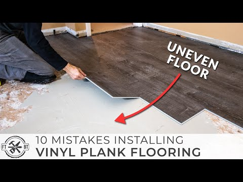 10 Beginner Mistakes Installing Vinyl Plank Flooring 1 11 2020 Fix This Build That On You In 2020 Installing Vinyl Plank Flooring Vinyl Plank Flooring Vinyl Plank