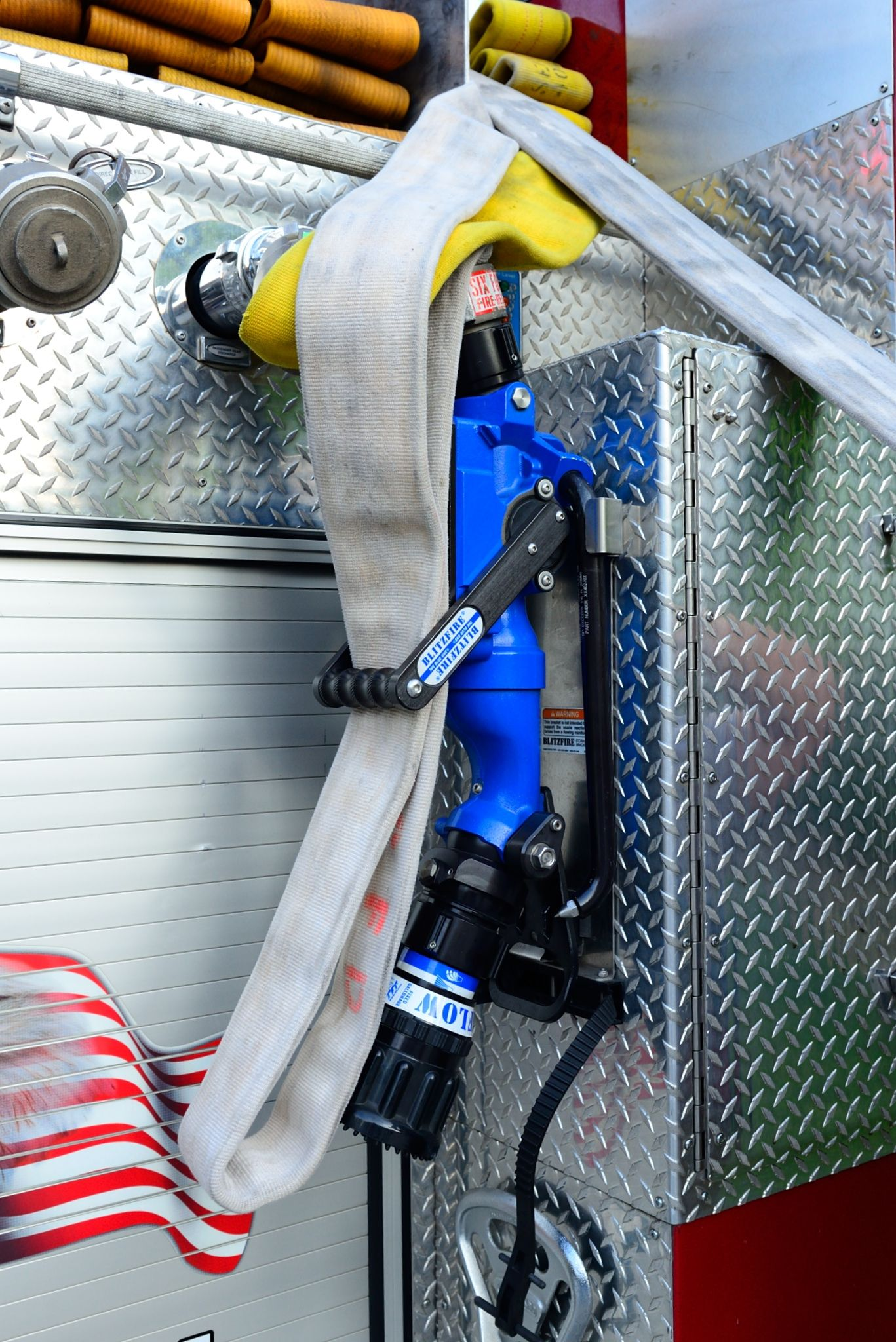 Blitz Nozzle Deployment | The blitz, Fire apparatus