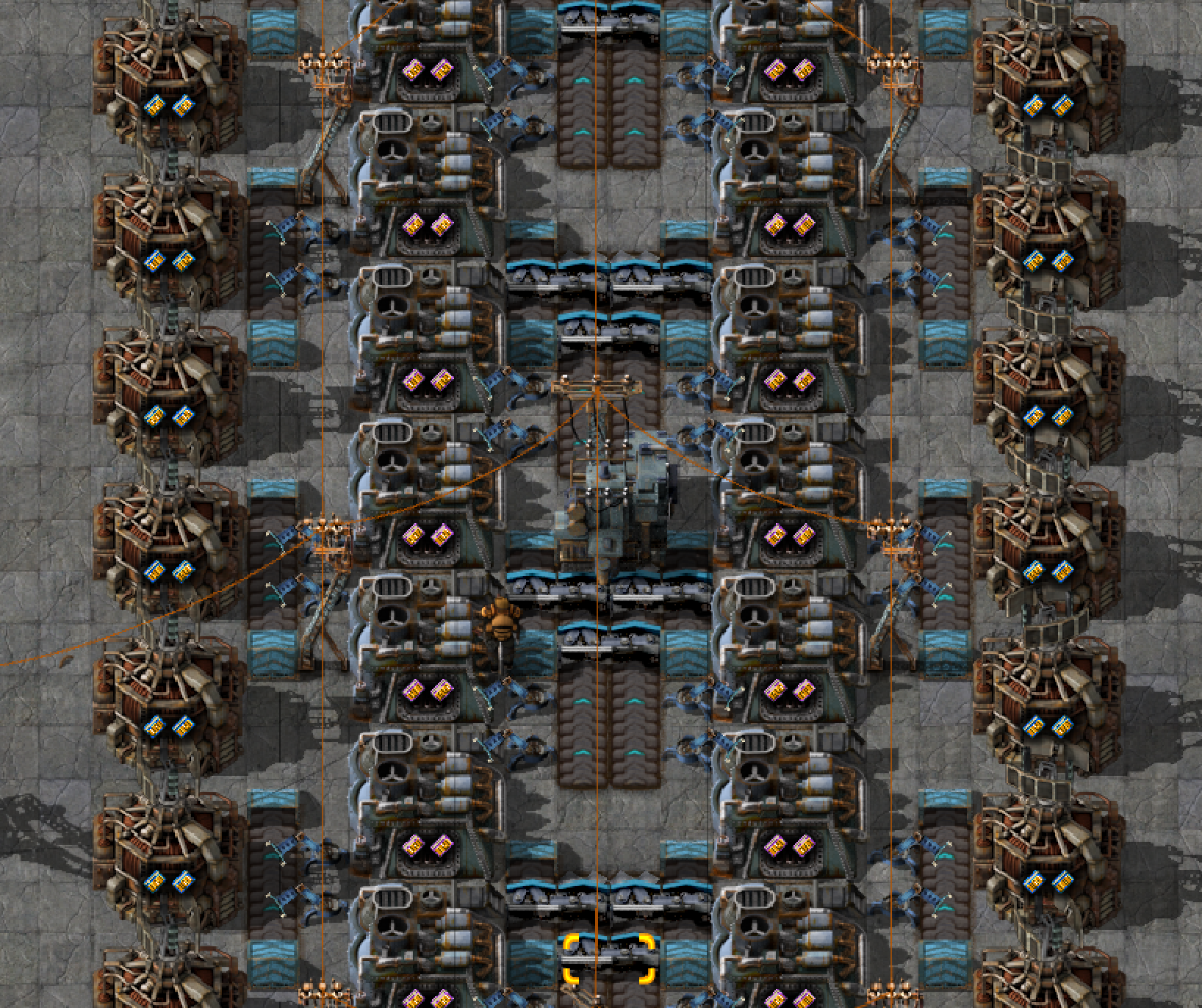 Belt To Furnace Ratios : Factorio