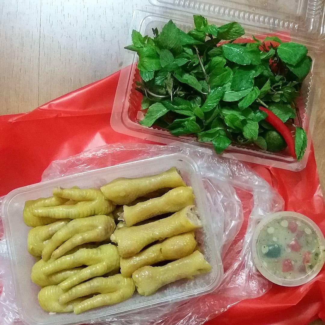 ✔ Chân gà thảo quả ướp lạnh - Bếp Bà Trư, Hoàng Ngân, HN
