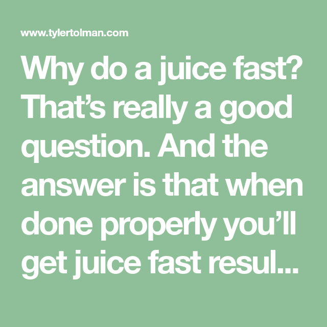 Heal Thy Self TRiBE | Juice Fast Results That Will Transform You