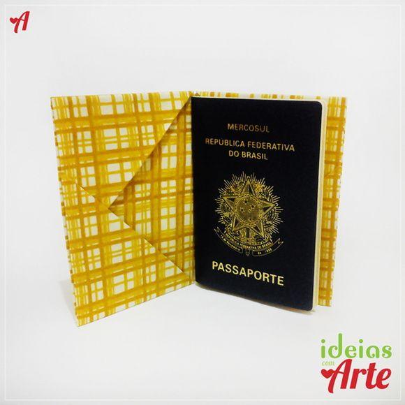 Porta Passaporte E Documentos Xadrez Em 2020 Porta Passaporte
