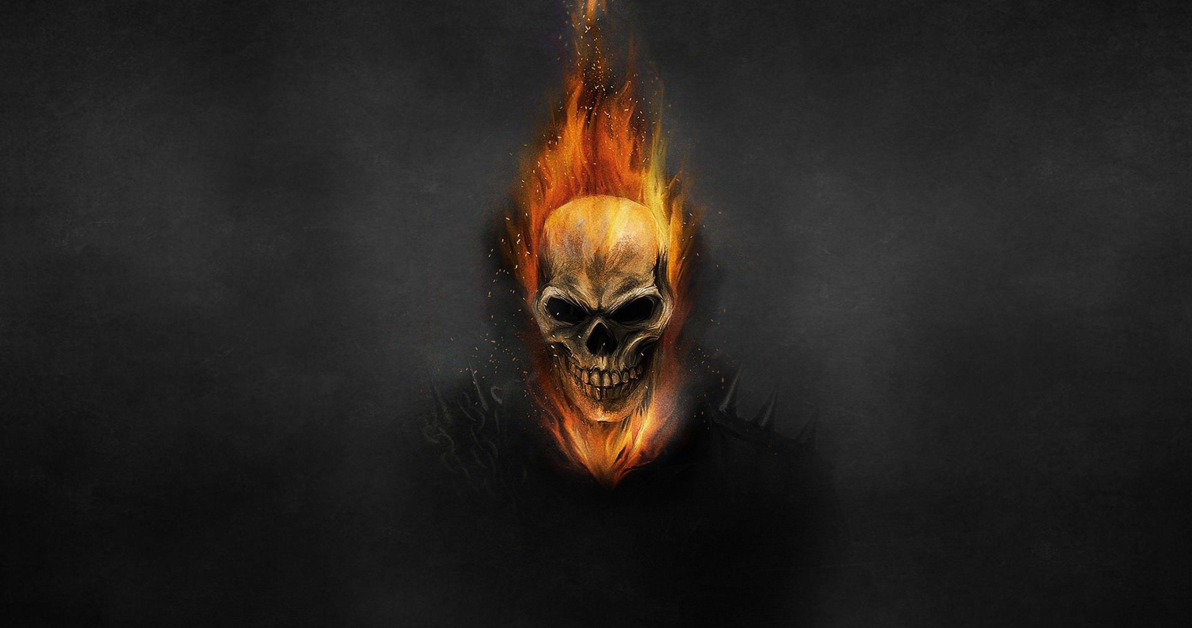 Ghost Rider Skeleton 4k Ultra Hd Wallpaper Ghost Rider Wallpaper Ghost Rider Skull Wallpaper