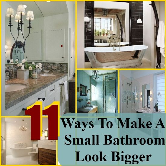 Simple And Easy Ways To Make A Small Bathroom Look Bigger - Colors that make a small bathroom look bigger