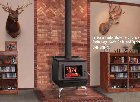 Blaze King Princess Wood Stove Brick Surround Blaze Brick