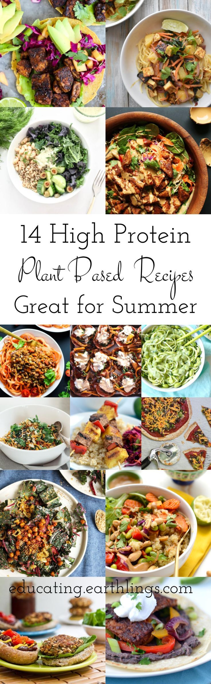 Protein-rich recipe for the summer