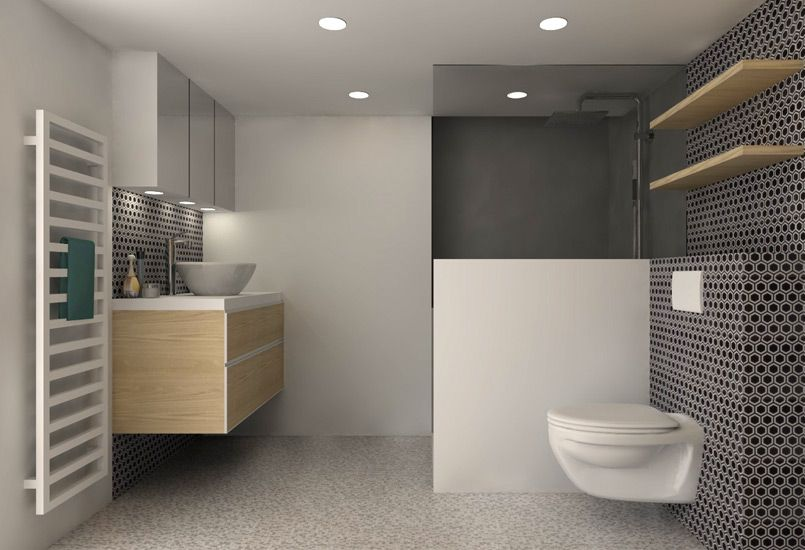 petite surface am nagement d coration lyon. Black Bedroom Furniture Sets. Home Design Ideas