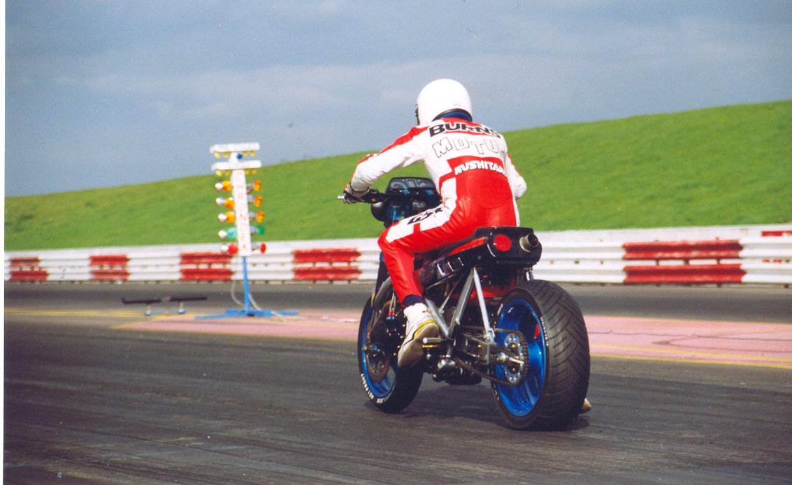 Steve Burns' Spondon Monster Cafe racer, Custom