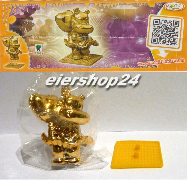 NEU! Sonderfigur GOLDENES MARYLINCHEN gold inkl. neutralem BPZ (EU) aus Polen