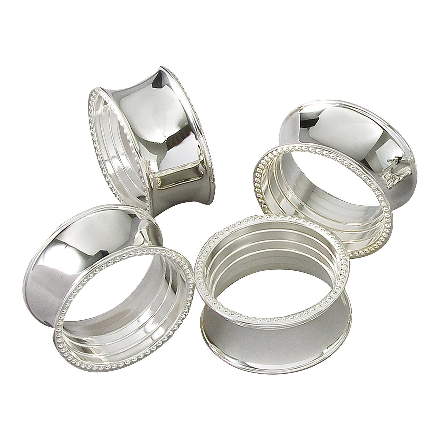 Table Decorations Jofefe 8pcs Gold Napkin Rings Round Napkin Holders Buckles for Wedding Dinner Party