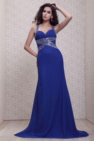 Charming A Line Floor Length Spaghetti Straps Talines Evening Dress ...