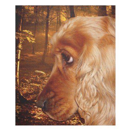 Dog Cocker Spaniel Fleece Blanket Zazzle Com Cocker Spaniel