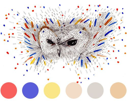 Morse Code Owl