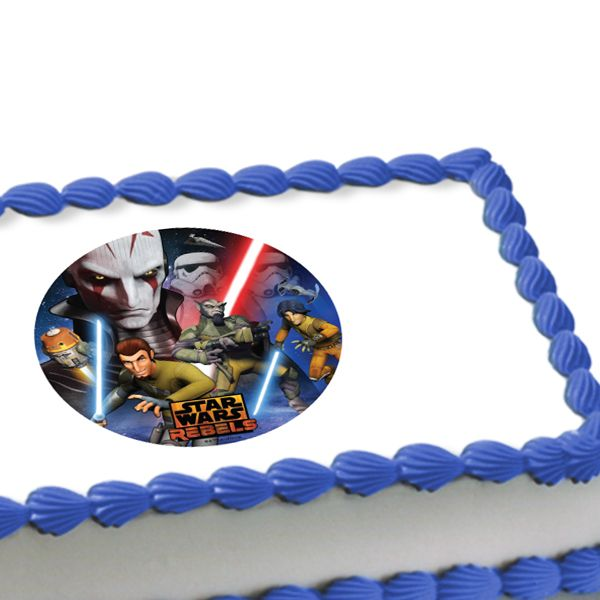 Star Wars Rebels Edible Image Cake Decoration Recipes To Cook