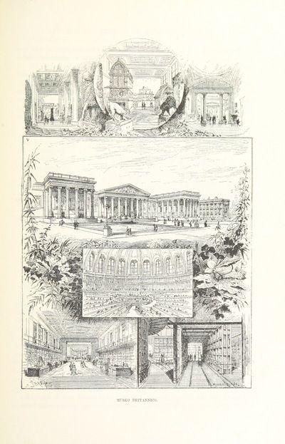 "Bloomsbury from ""Inghilterra, Scozia e Irlanda. Opera illustrata con 494 incisioni, etc"""